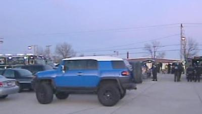 Suspect In Standoff Surrenders