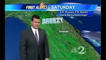 Saturday Outlook: Breezy with Scattered Showers