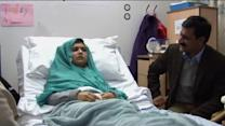 Pakistani girl speaks for first time since shooting