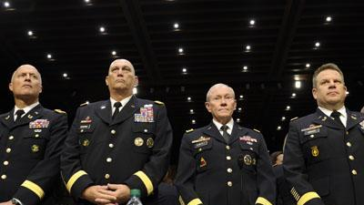 MilitaryTop Brass Grilled Over Sexual Assaults