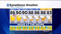 Katie's Memorial Day Forecast (May 25, 2015)