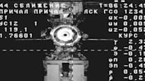 Russian Supply Ship Docks With ISS