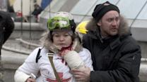 Ukrainian Protest Icon Hopeful About Future