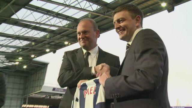 Pepe Mel introduced as new West Brom manager