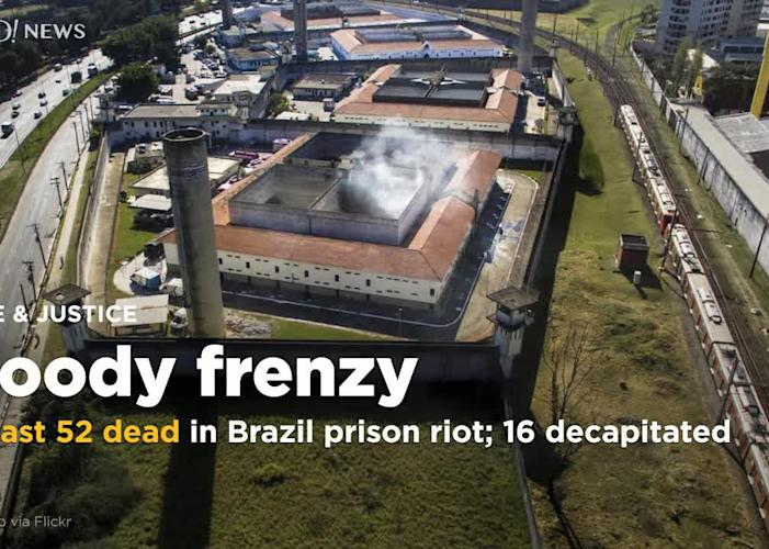At least 52 prisoners killed by fellow inmates in Brazil prison riot