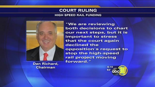 Judge blocks sale of California high-speed rail bonds