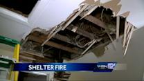 Fire causes damage at Ozaukee Co. shelter