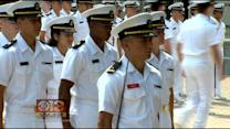 New Navy Students Get To Meet With Families