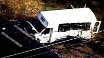 Train Hits Transit Bus in Pa.; 1 Killed, 10 Hurt