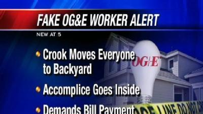 OG&E Issues Fake Worker Alert