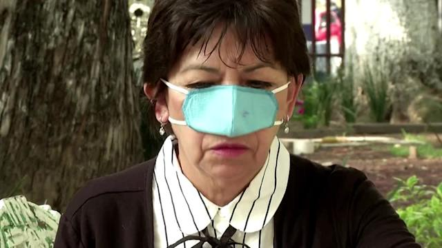 Mexican inventors make nose-only mask
