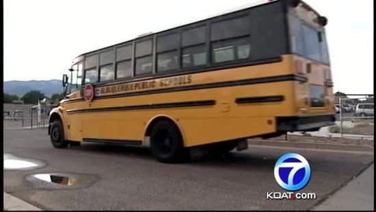 Should there be seat belts on school buses?