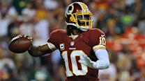 Will RG3 continue his aerial assault?