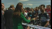 Duke and Duchess of Cambridge launch Tour de France in Yorks