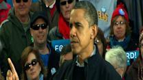 Obama begins final day of campaigning in Wis.
