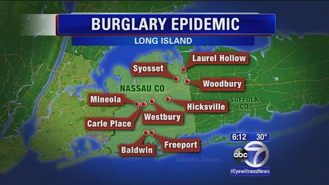 5 arrested in high-tech burglary ring