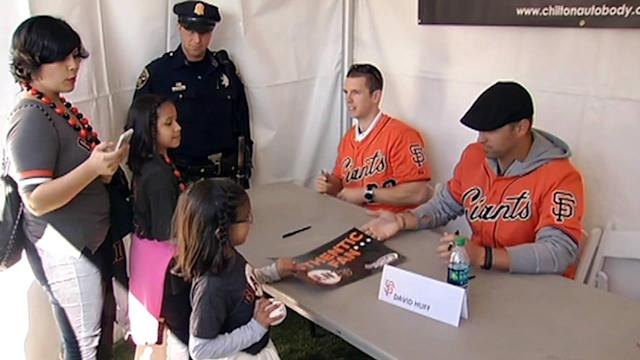 SF Giants host annual FanFest at AT&T Park