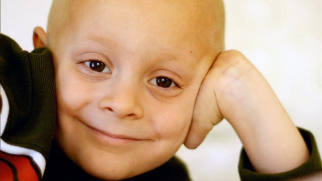 One small step in the fight against childhood cancer