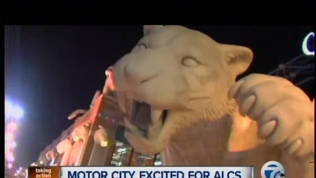 Businesses in Detroit looking forward to ALCS