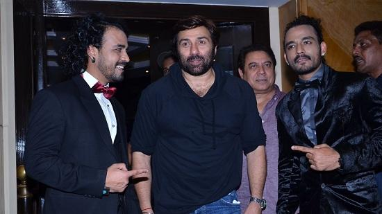 Sunny Deol At The Launch Of French Kiss Pop Album