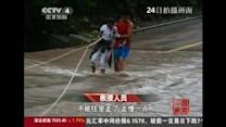 Typhoon trail of destruction in China