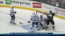 Dwight King scores shorthanded goal