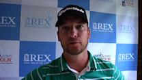 Kyle Thompson interview after Round 1 of Rex Hospital Open