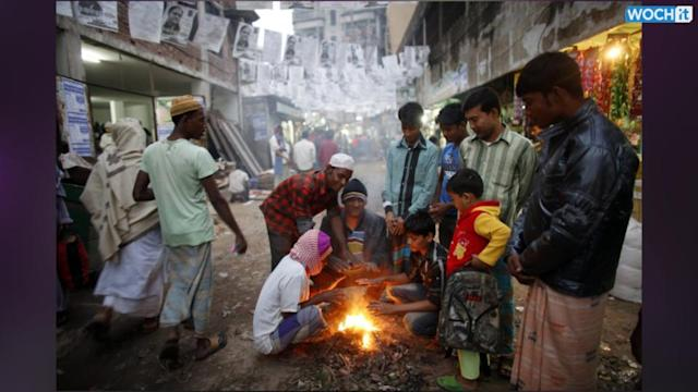 Polling Booths Torched As Bangladesh Go For Polls Sunday