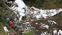Crash d'avion en Colombie : la planète football en deuil