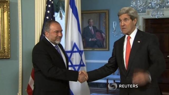 Kerry in talks with Israeli FM