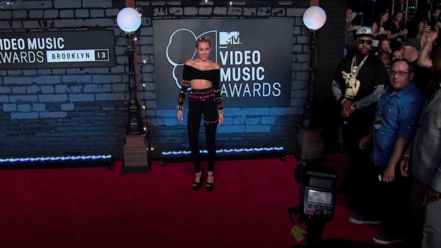 Miley Cyrus Named MTV's Artist of the Year 2013