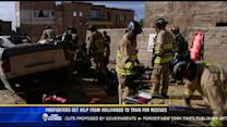 Firefighters get help from Hollywood to train for rescues