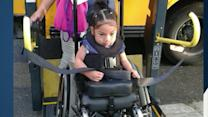 $10K Donation Made to Replace Wheelchair for Girl Born Without Legs
