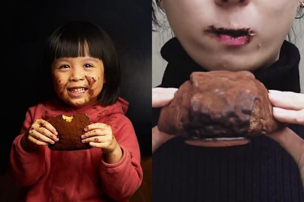 红片亚洲各地的「脏脏包」,将面包外层图上巧克力酱再洒满可可粉,让人品尝时绝对会沾满嘴,形成脏兮兮的样貌使人发笑,也成为网路上热门的话题食品(图/semeur圣娜、Our Bakery)