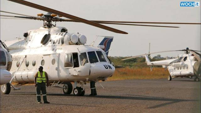 Russian Airline Says Its Helicopter Likely Shot Down In South Sudan