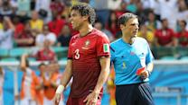 Pepe's red card 'difficult to accept' for Portugal