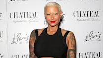 Amber Rose Is Completely Unrecognizable in This Super-'90s Throwback Pic