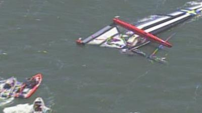 Sailor Dies in Capsize of America's Cup Boat