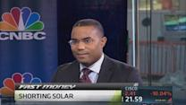 Shorting solar energy