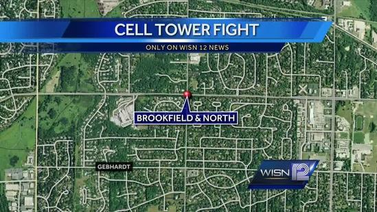 Brookfield residents battle proposed cell tower
