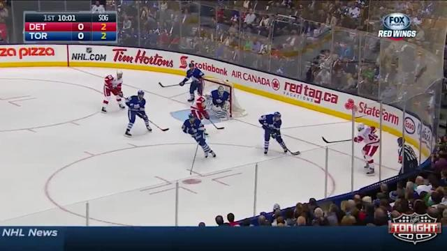 Detroit Red Wings at Toronto Maple Leafs - 10/17/2014