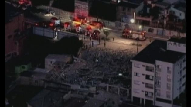 Another building collapses in Brazil before 2014 World Cup