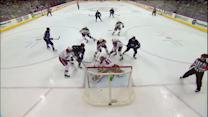 Olli Jokinen scores after turnover by Smith