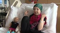 "Girl beats cancer, gets part in ""Playing For Keeps"""