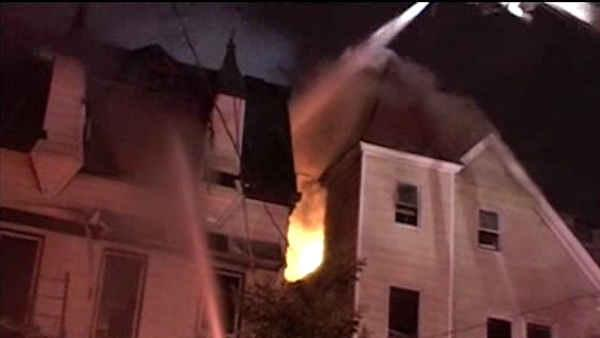 Firefighters battle flames, heat in Bronx fire