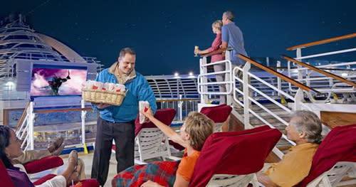 圖/公主遊輪上有多樣豪華的設施等著乘客來體驗,整天待在船上也不會無聊。(近代旅行社提供)
