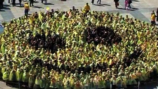 Croatia claims world's largest smiley face prize