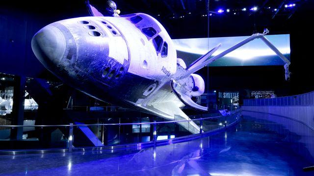 Kennedy Space Center debuts space shuttle Atlantis exhibit
