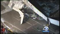 Small jet crashes while landing at Santa Monica Airport