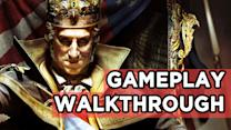 AC3: The Tyranny of King Washington Gameplay Walkthrough! Invisible Wolves, Bears, and SUPER POWERS! - Rev3Games Originals
